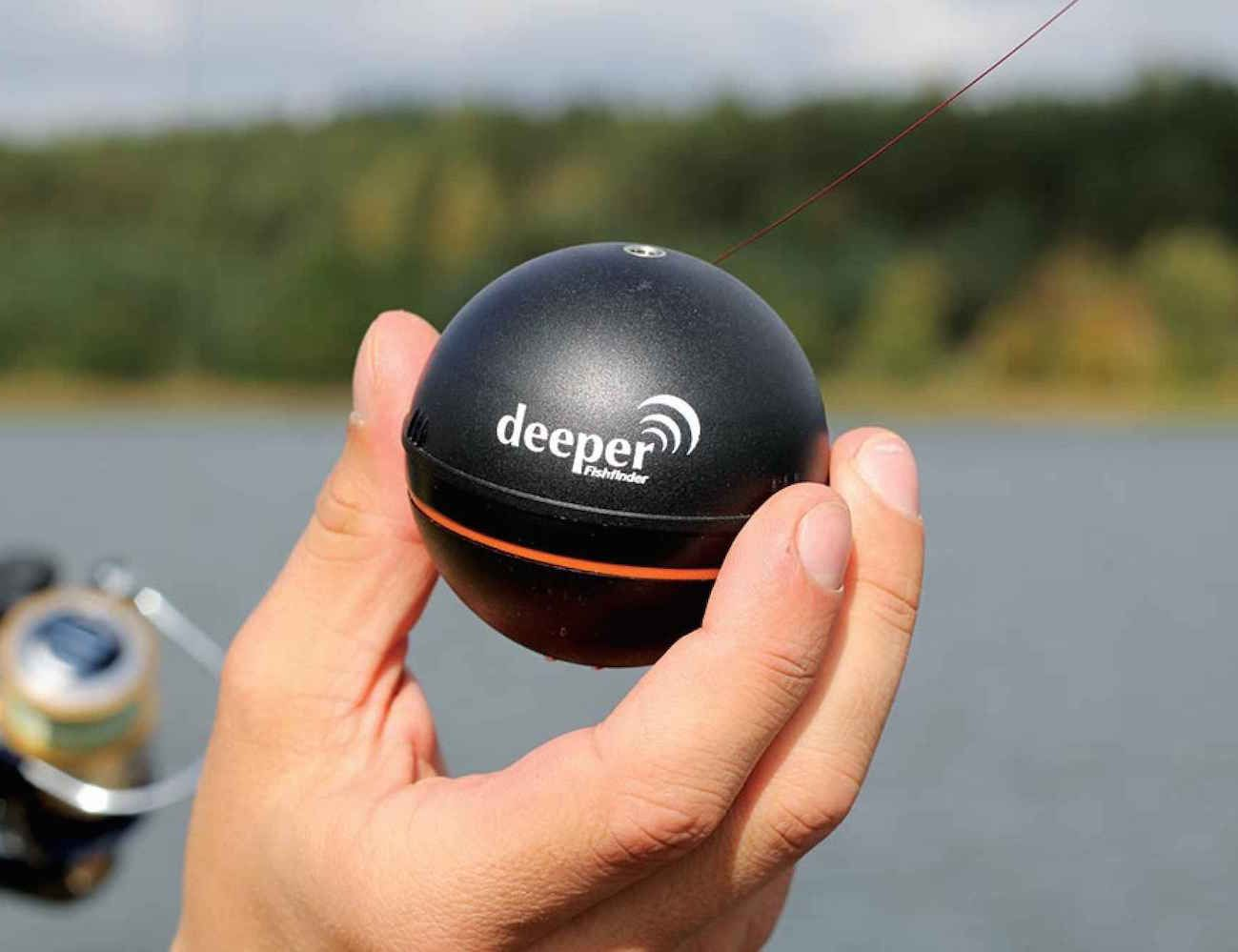 Эхолот Deeper Smart Fishfinder для рыбалки в Мурманске