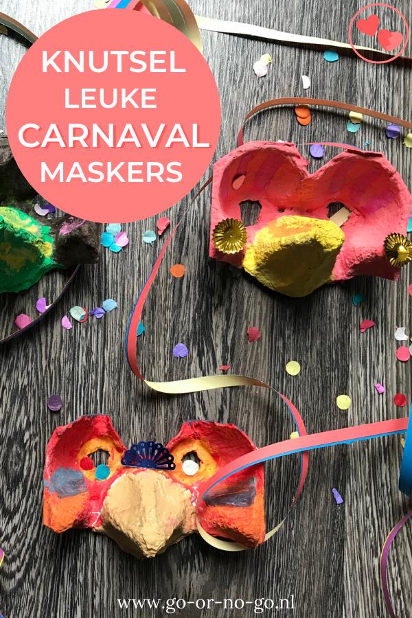 Knutsel een Carnavals masker en confetti schieter - Go or No Go