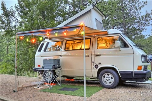 How To Make A Roof Canvas Westfalia Buscar Con Google Van Awning Van Life
