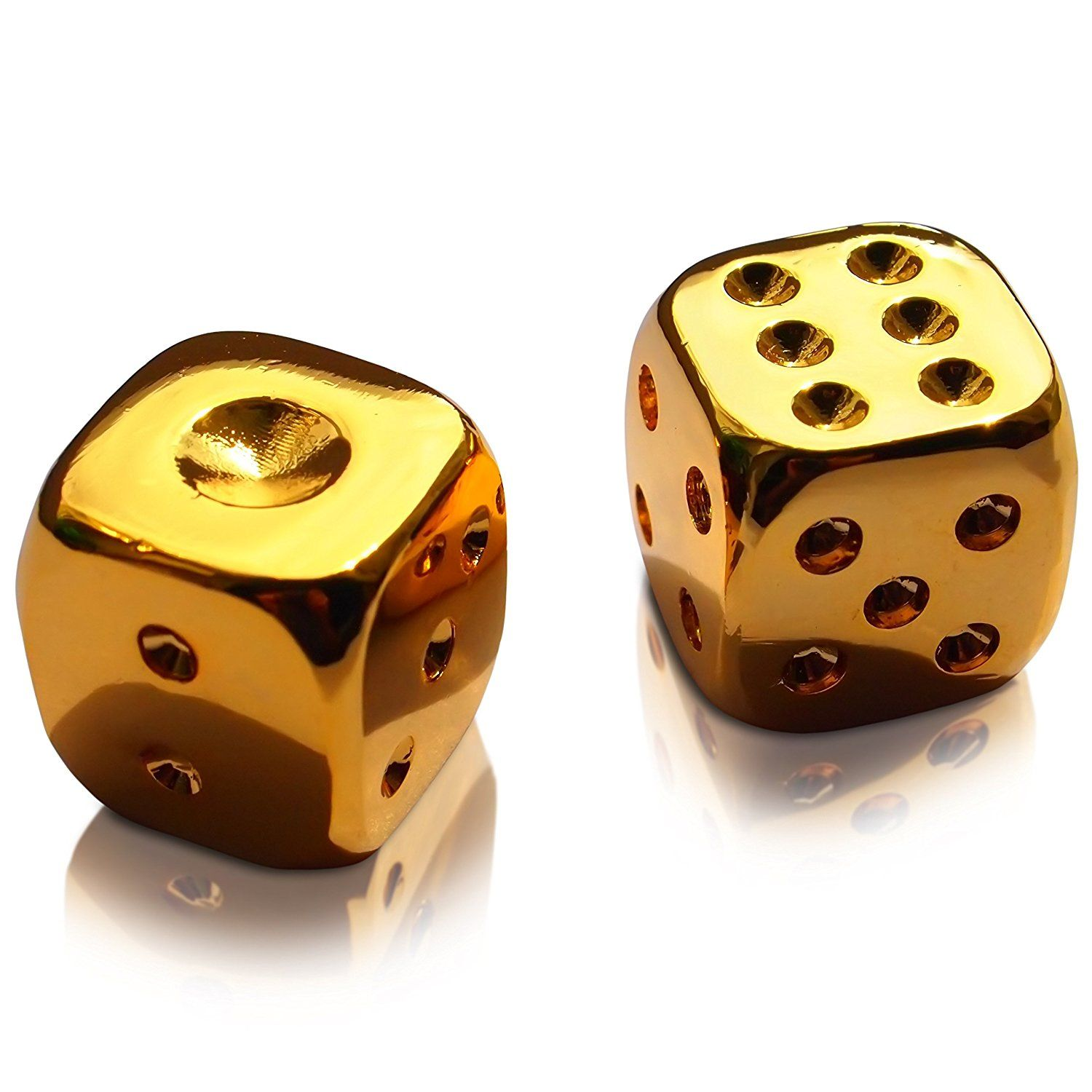 Set of Two Lucky Star Wars 24K Gold Plated Dices
