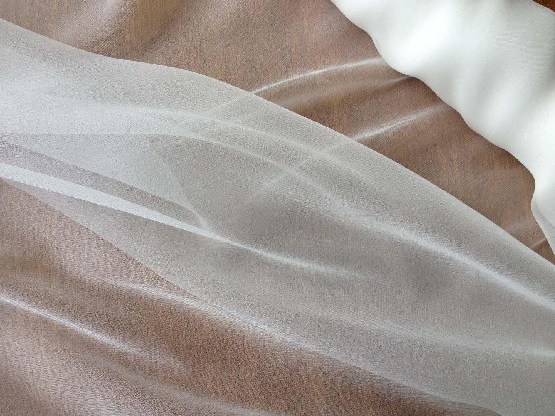Lace and Chiffon Fabric