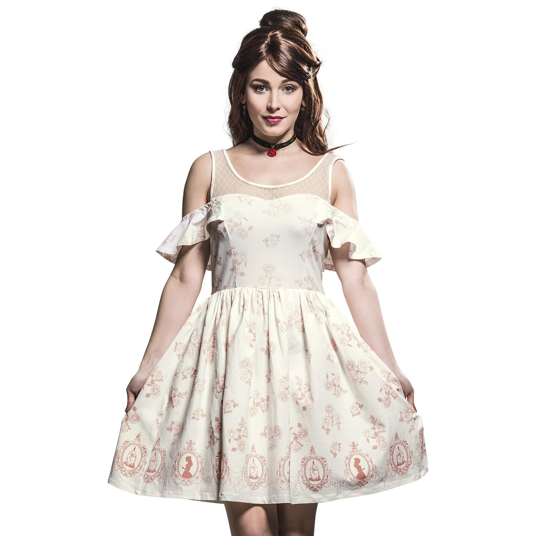 Belle Rose Cameo Dress - Kurzes Kleid von Die Schöne und das Biest ...