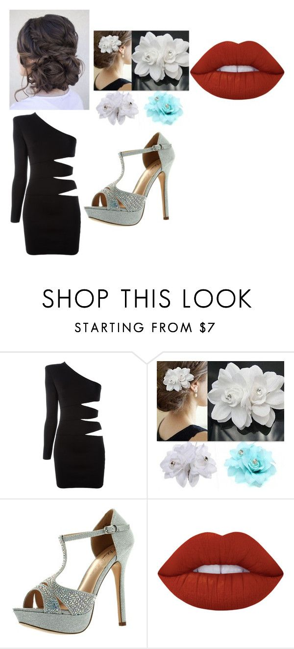 """prommmm"" by amaya-lagana on Polyvore featuring Balmain, De Blossom and Lime Crime"