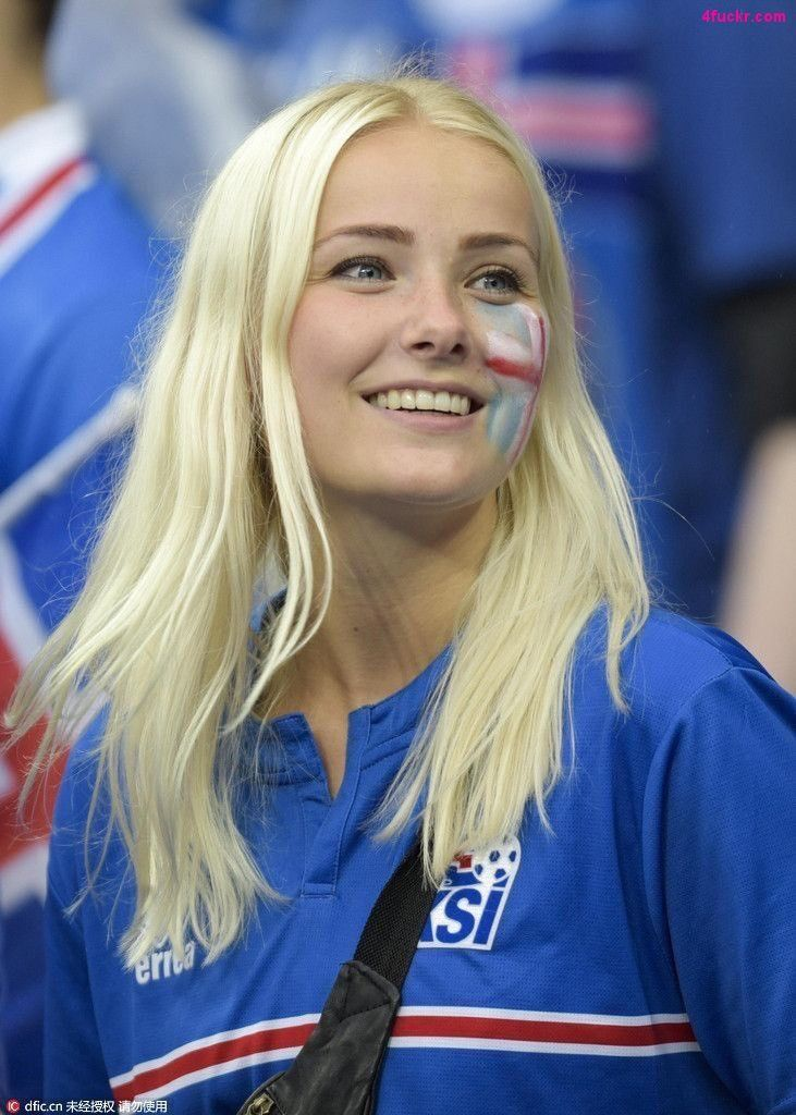 Iceland • Blonde • World Cup • wc2018 Hot football fans