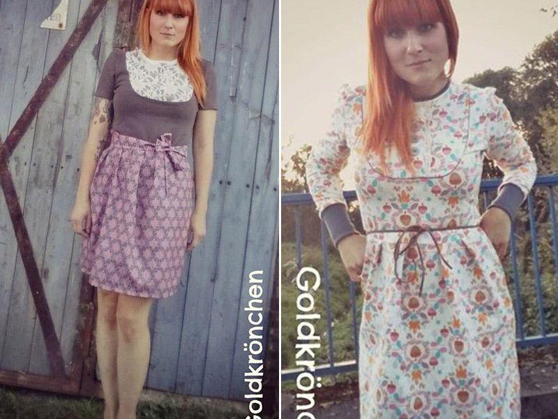 Kleid & Shirt Masha - Kreativlabor Berlin   Kleider für
