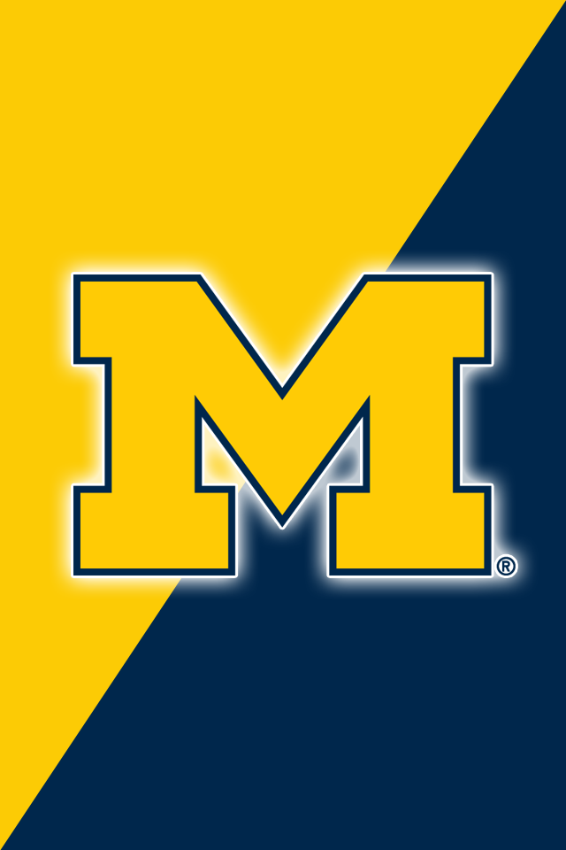 michigan football iphone wallpaper get a set of 12 officially ncaa licensed michigan 8478