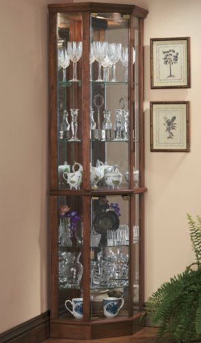 Have Always Wanted A Curio Corner Display Cabinet Glass Corner Curio Corner Display Cabinet