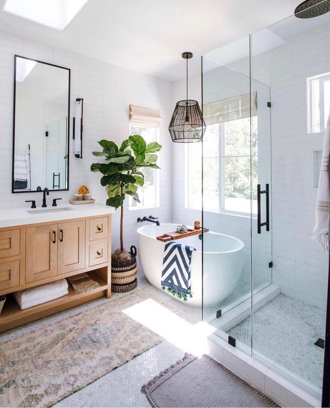 Sandi Shalia On Instagram This Is My Dream Bathroom And It Belongs Our Friend Anitayokota We Had The Privile Bathroom Interior Design House Bathroom Home