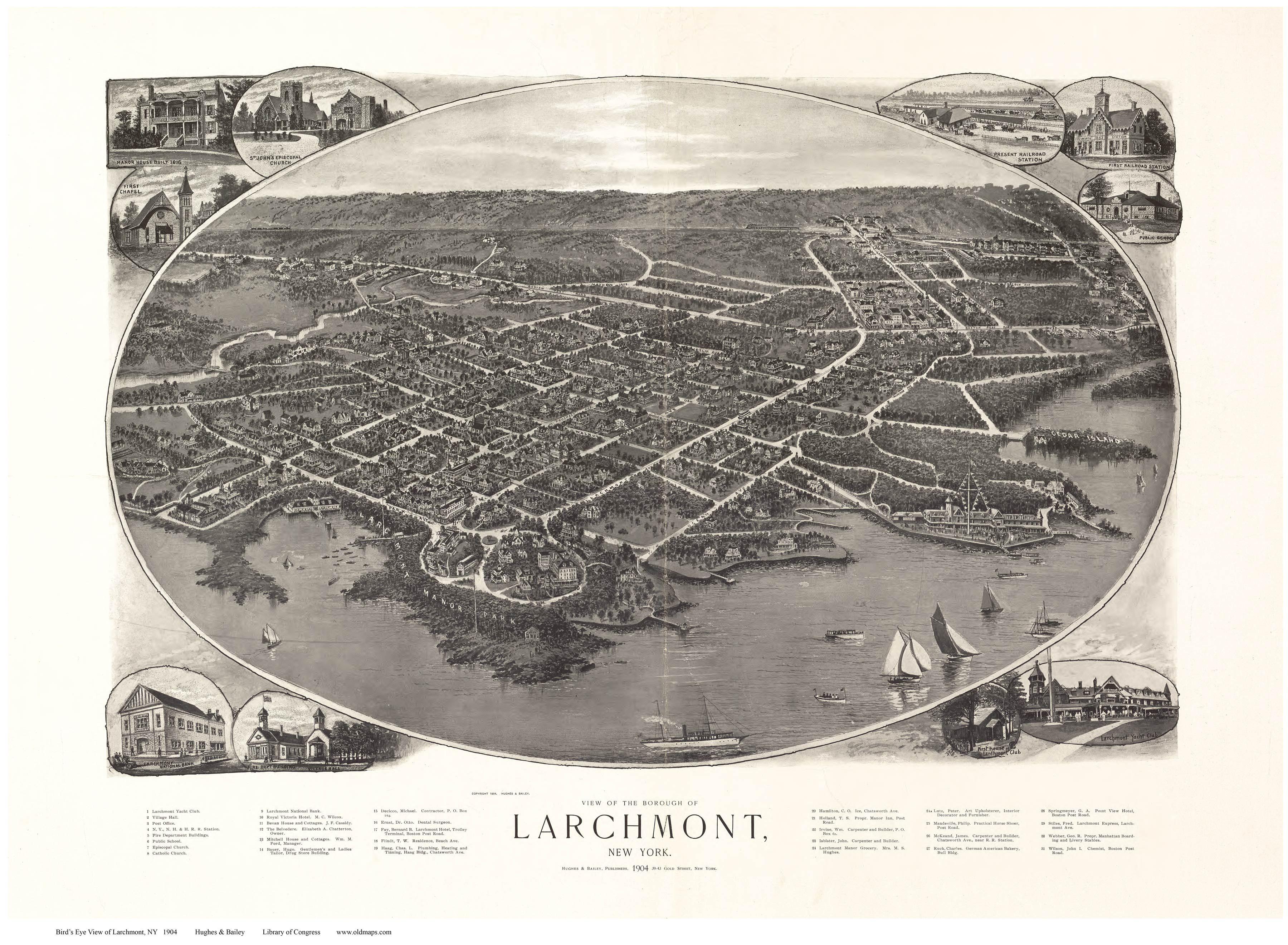 Larchmont, New York, 1904