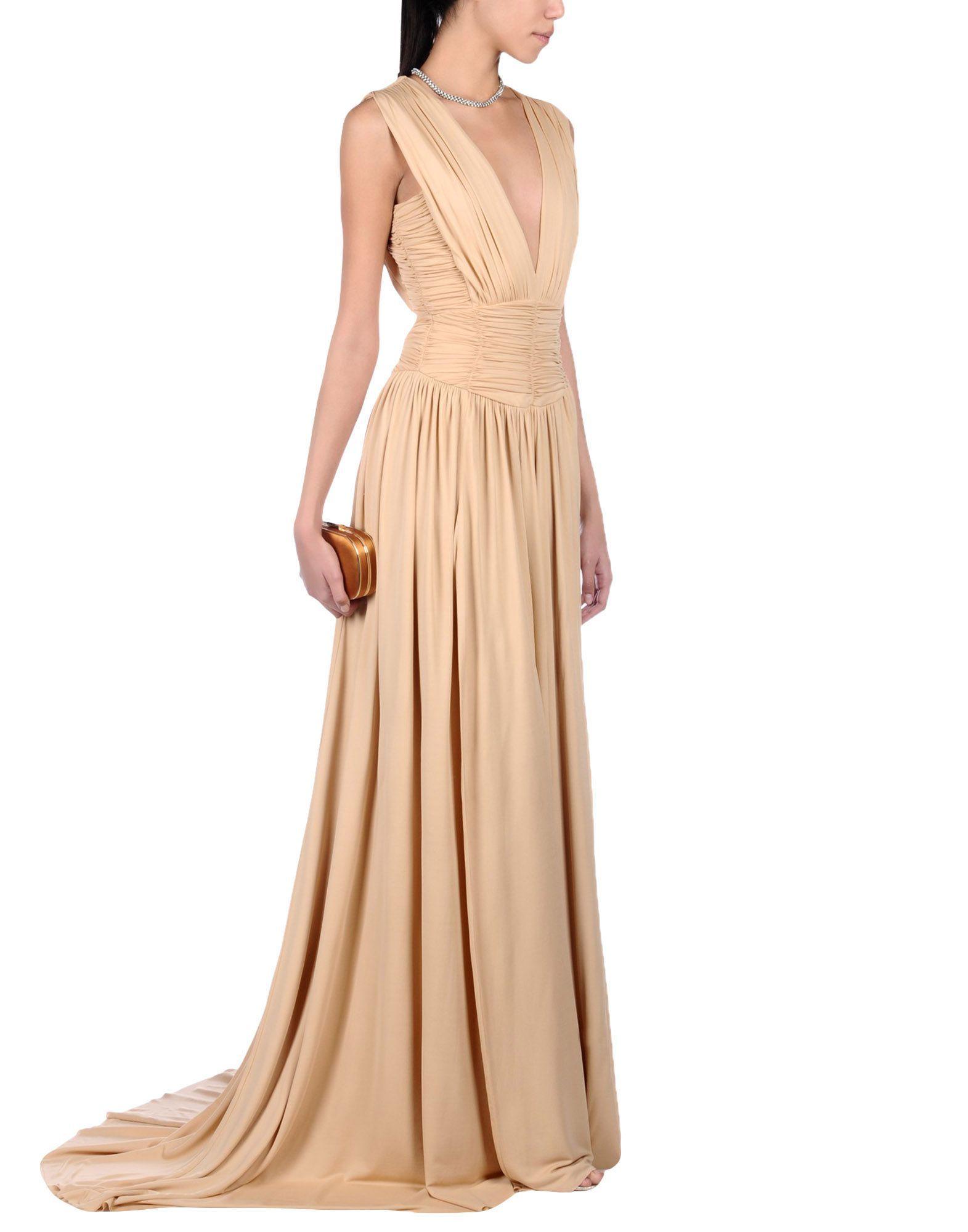 balmain abendkleid - kleid | yoox | damen lange kleider