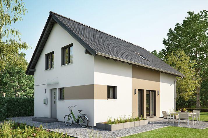 Fertighaus Einfamilienhaus: NEO 200 Außenansicht Eingang
