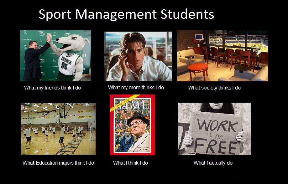 Sport management so true! sportmanagement