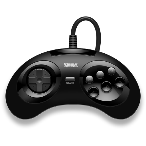 Sega Genesis Controller By The Penciler Png 512 512 Sega Mega Drive 2 Sega Sega Mega Drive