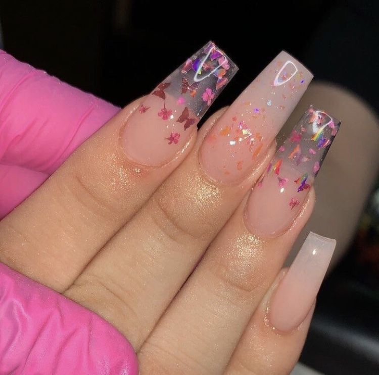Pin by Anahy on Nails Pretty acrylic nails, Coffin nails