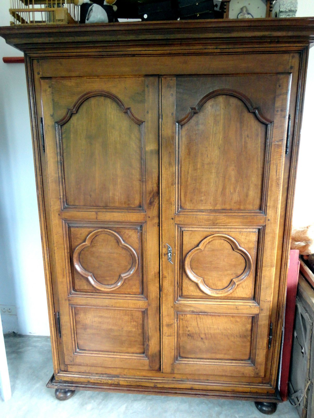 superbe armoire ancienne ebay armoire pinterest armoire ancienne armoires et superbe. Black Bedroom Furniture Sets. Home Design Ideas