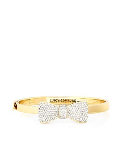 Pave Bow Hinge Bangle juicy couture soo cute