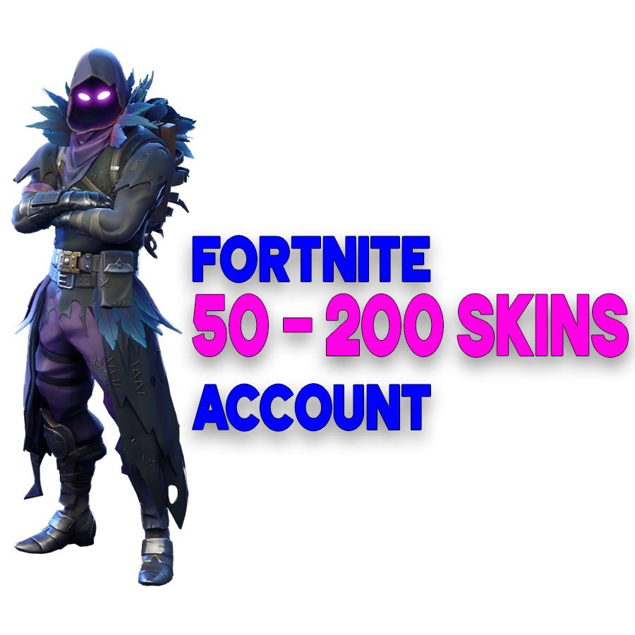 Fortnite Random Account 50 - 200 SkinsThis Game Only Used ...