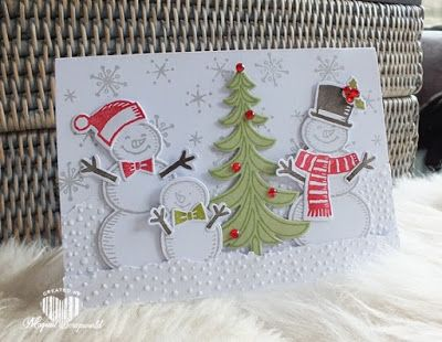 Magical Scrapworld, Snowman. cards, christmas, santa's sleigh ride, snow friends, snow place, softly falling, Stampin' Up!