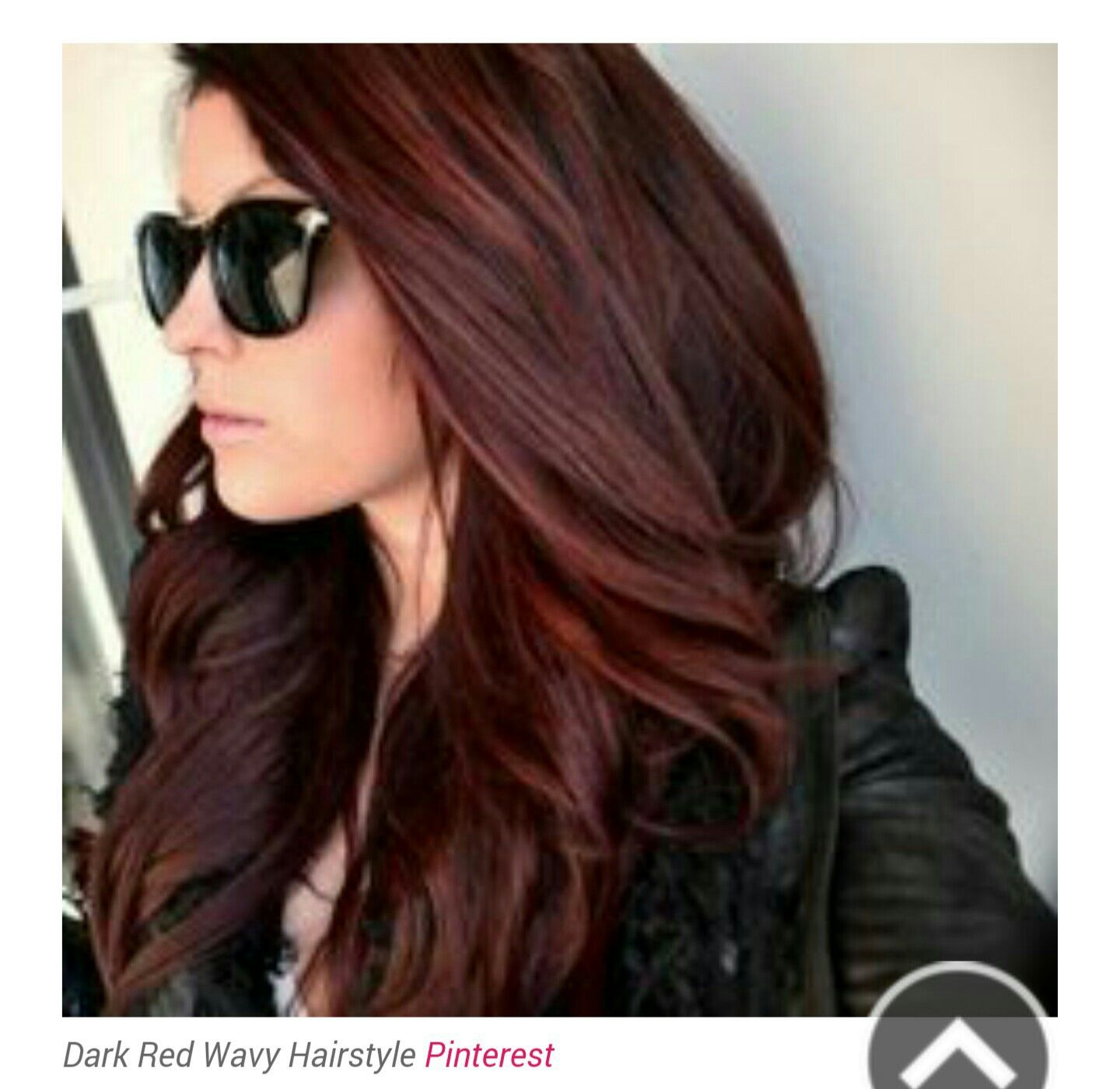 Dark Red Wavy Human Hair Extensions Pinterest Human Hair