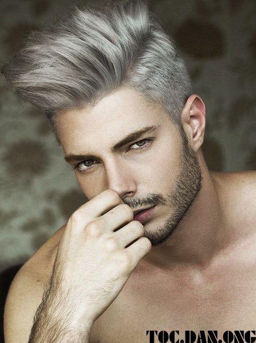 Pin Von Ia Auf Whats Your Style Weißhaarige Männer