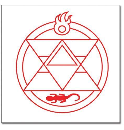 Fullmetal Alchemist Fire Alchemist Symbol Fullmetal Alchemist