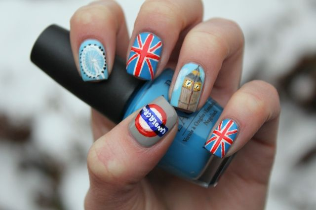 London Nails @Ashley (will do for you if I can...)