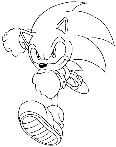 How to draw sonic the hedgehog with easy step by step drawing tutorial