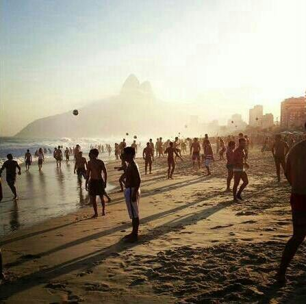 Ipanema beach!