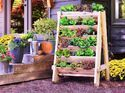 Stacked Herb Bed #senkrechtangelegtekräutergärten