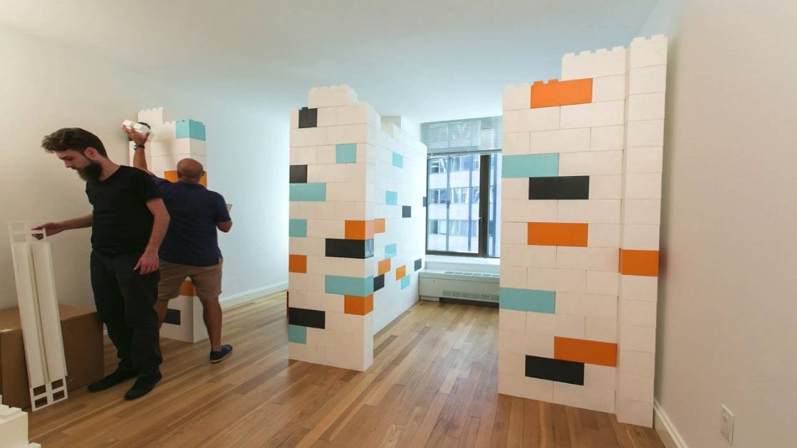 Giant Lego Bricks Let You Build An Extra Room In Your Home Room