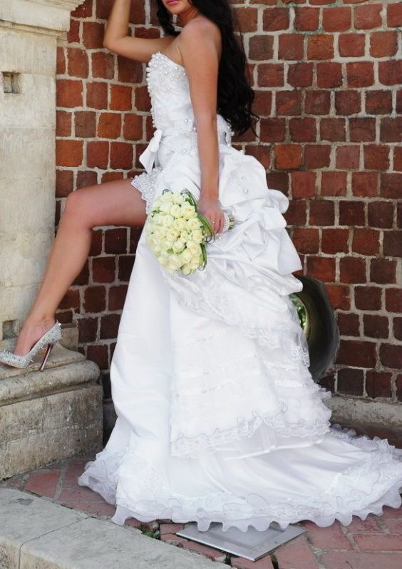 Wedding dress haute couture - ANDREY PONOMAREV 3000$!!!  | eBay