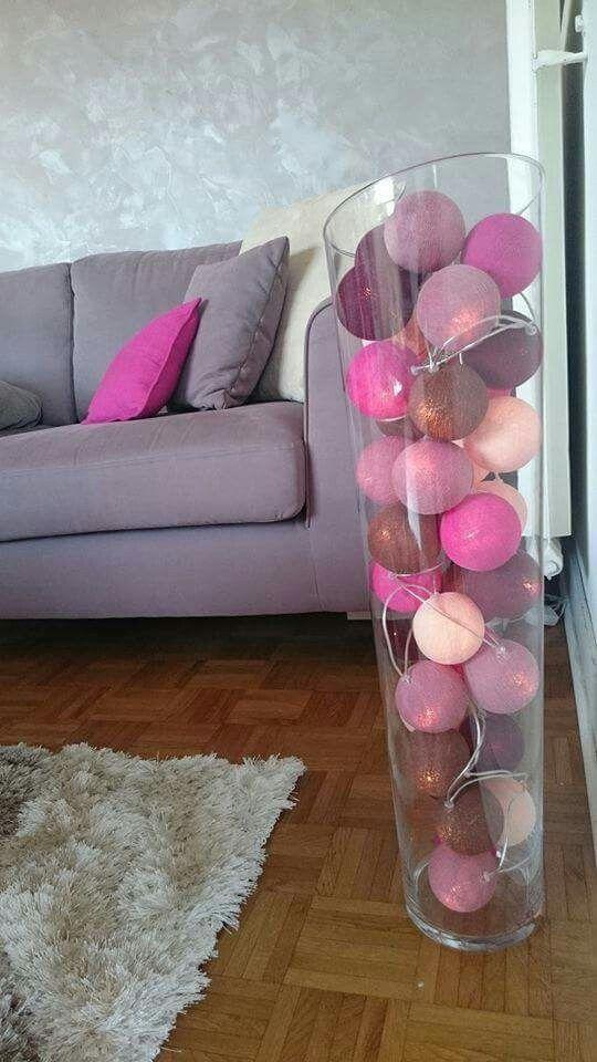 Guirlande La Case De Cousin Paul Http Www Les Jolies Choses Fr Idee Deco Vase Idee Deco Vase Transparent Decoration