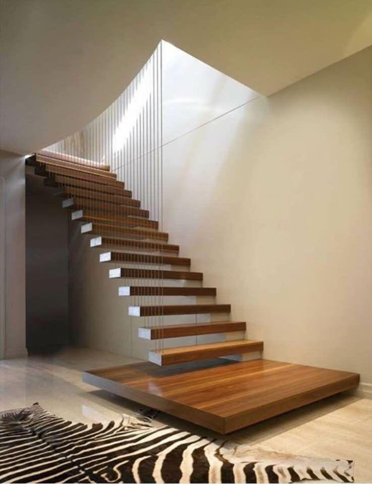 Pin De Ben Panda En Property En 2018 Pinterest Escaleras Diseno - Barandas-escaleras-modernas
