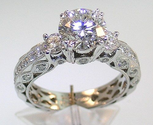 vintage wedding rings for special bride vintage wedding rings 1920 di candia fashion - Vintage Wedding Rings 1920