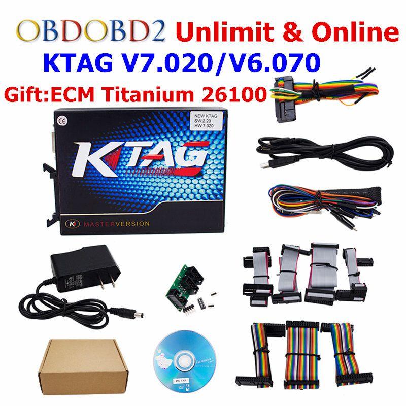 KTAG Ktag V7.020 K TAG V2.23/KTAG V6.070 ECU Chip Tuning