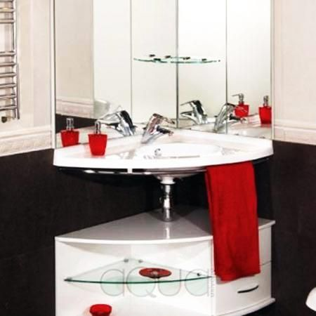 Corner Bathroom Sinks Creating Space Saving Modern Bathroom Design Amazing Corner Sink For Small Bathroom Design Ideas