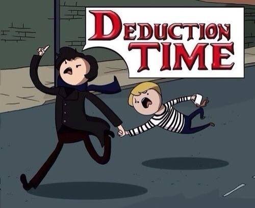 Adventure Time + Sherlock = YES!!!!!!!!!!