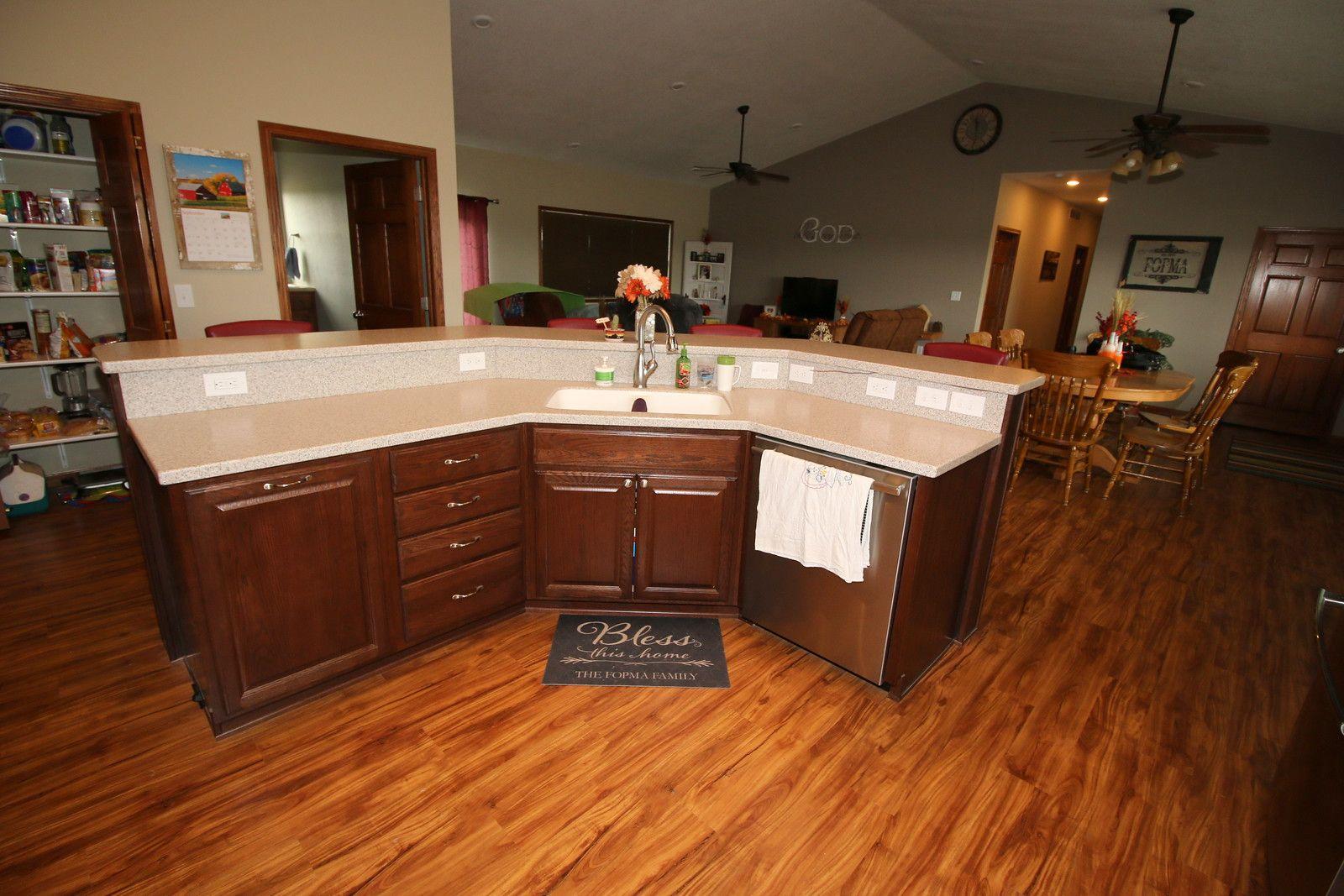 Belmont Oak Kaffe 091715 - Bruce Hall   Kraftmaid cabinets ...