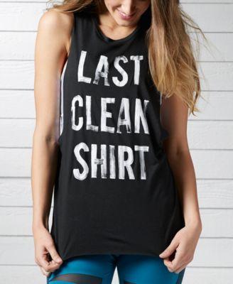 e733605d1759 REEBOK Reebok Last Clean Shirt Layering Tank Top. #reebok #cloth # tops