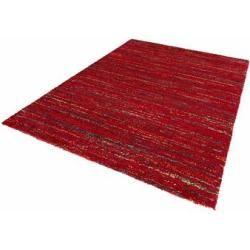 Hochflor-Teppich »Chic«, Mint Rugs, rechteckig, Höhe 30 mm, mehrfarbiger weicher Langflor, rot, 160
