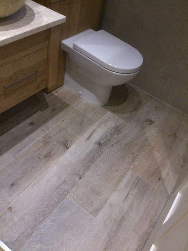 Grey Wood Look Ceramic Tile