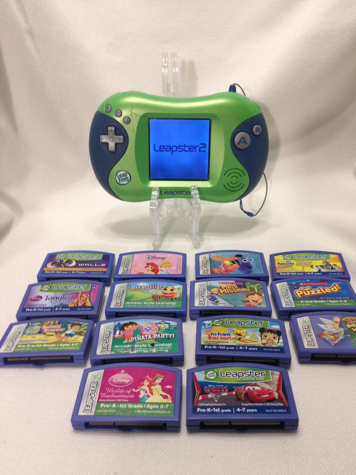 Leapster 2 Leap Frog Video Game System/Learning/Console