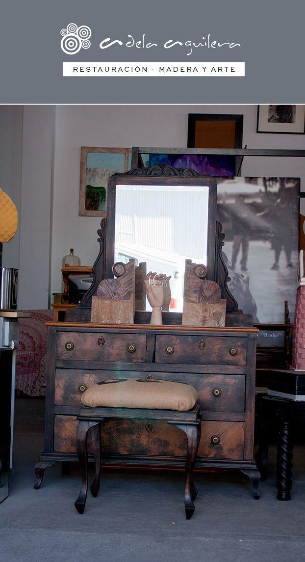 Mueble Coqueta Antiguo