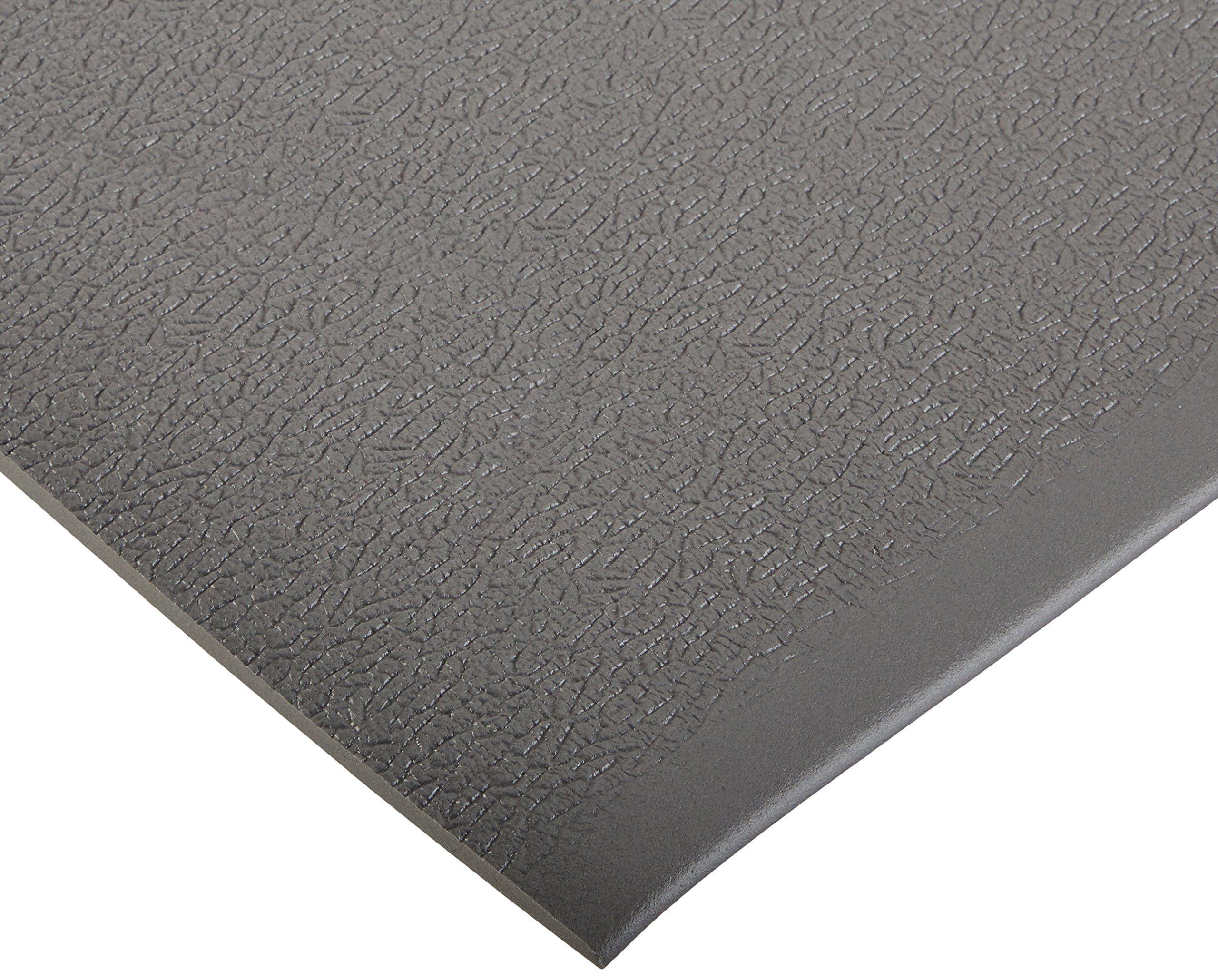 """3/' Wide x 10/' Long x 0.375/"""" Thick Gray Bertech ESD Anti Fatigue Floor Mat Roll"""