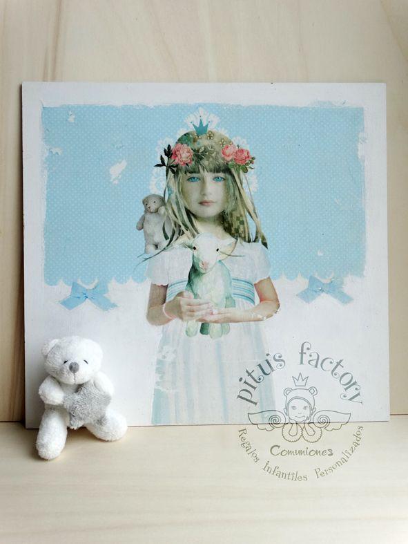 6d3905c9c Cuadro con ilustración infantil personalizada | Cuadros infantiles ...