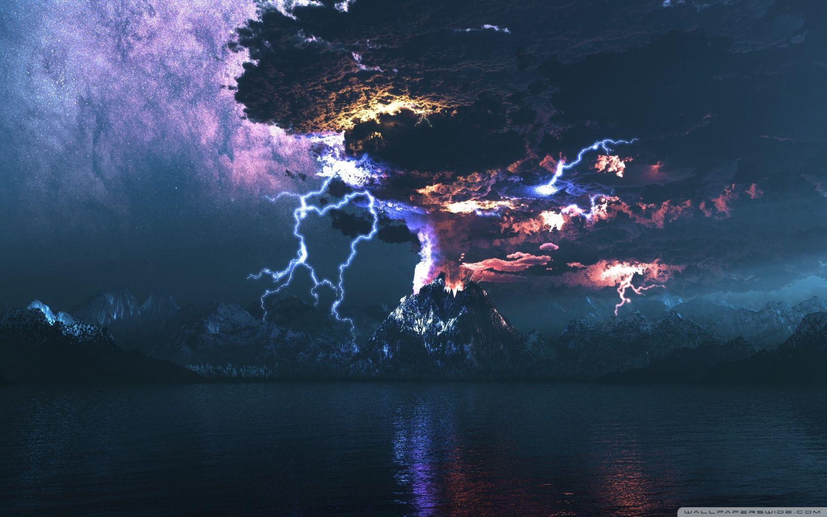 Volcano Lightning Volcanic Lightning Unexplained