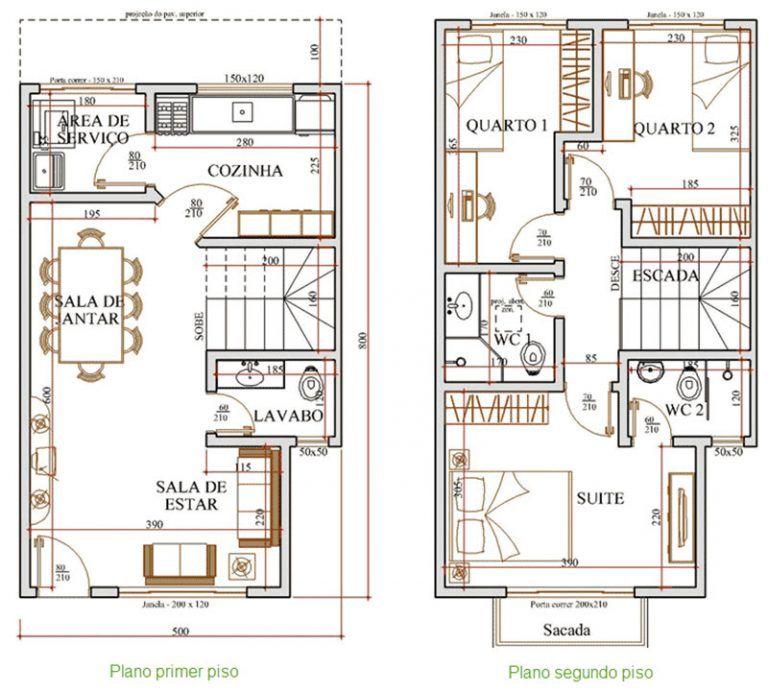 Planos De Casas Ideas De Diseno Para Construir Planos De Casas Planos De Casas Pequenas Casas De Dos Pisos