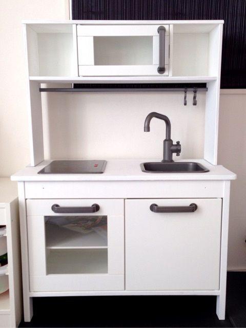 Ikeaのままごとキッチン完成 おままごと用キッチン おままごと