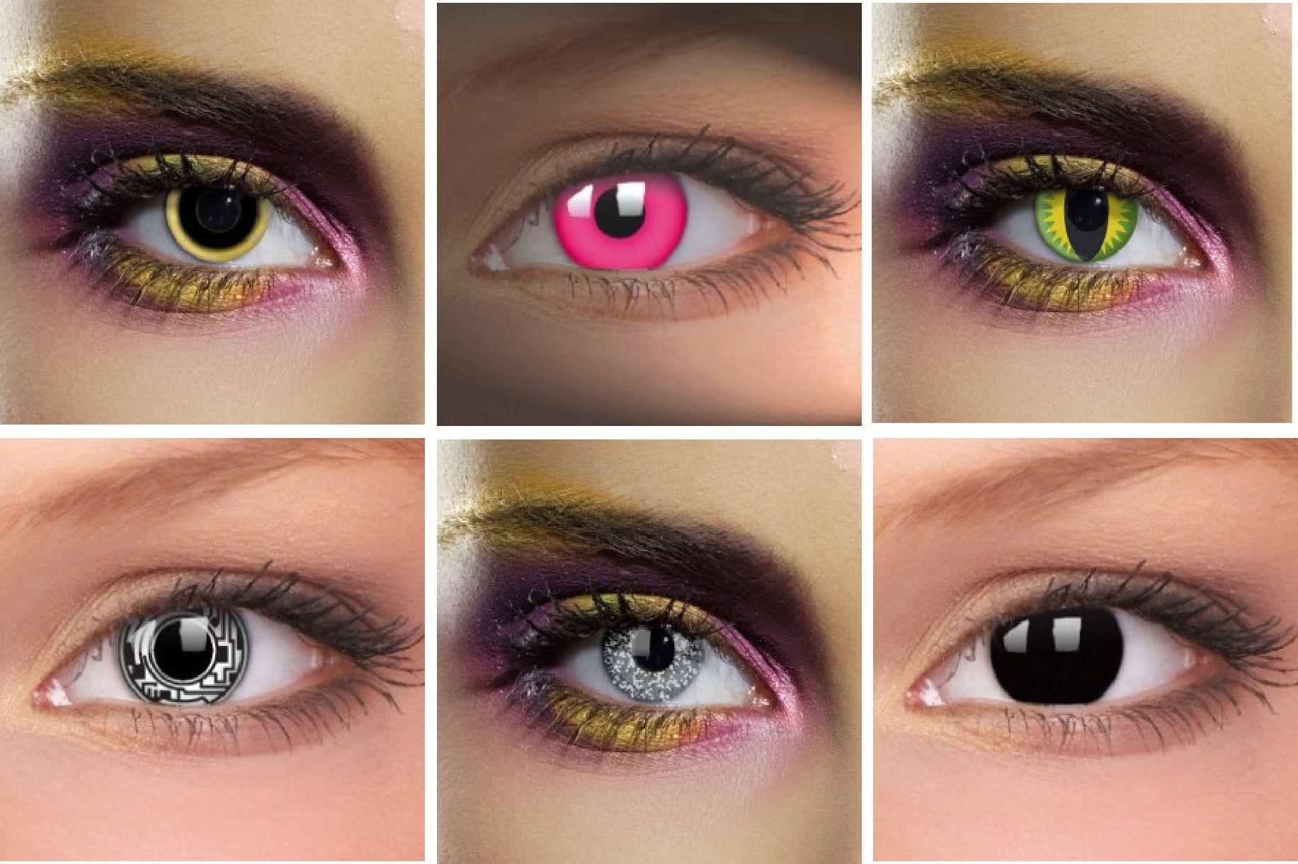 1000 images about lentillas de fantasa on pinterest - Lentilles Colores