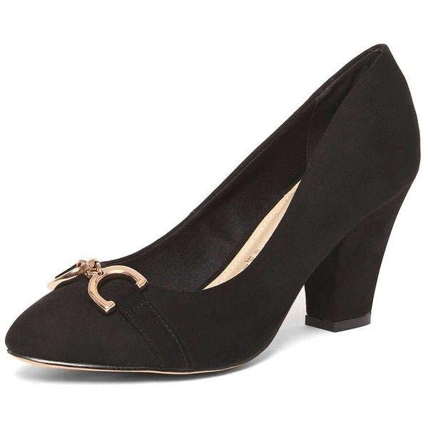 Dorothy Perkins **Lily & Franc Black 'Jacky' Court Shoes (£46